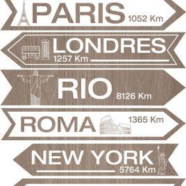Señales de ciudades