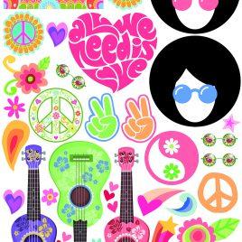Atrezzo hippie