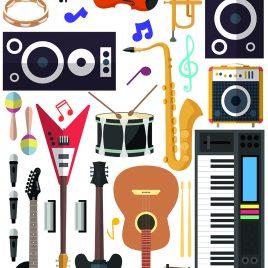 Atrezzo instrumentos