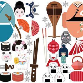 Atrezzo japonés