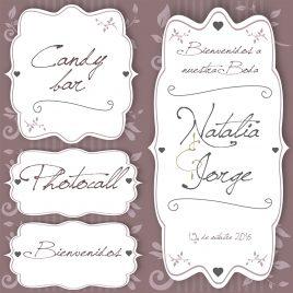Carteles script