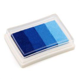 Tinta tonos azules