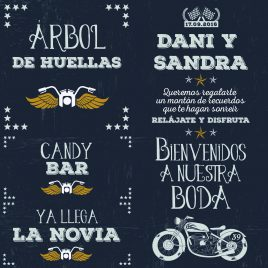Carteles Harley