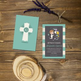 Invitación comunión 3 chico