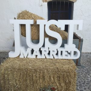 JUST MARRIED BODAS
