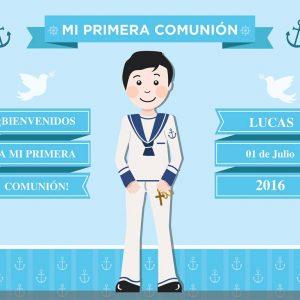 photocall primera comunion