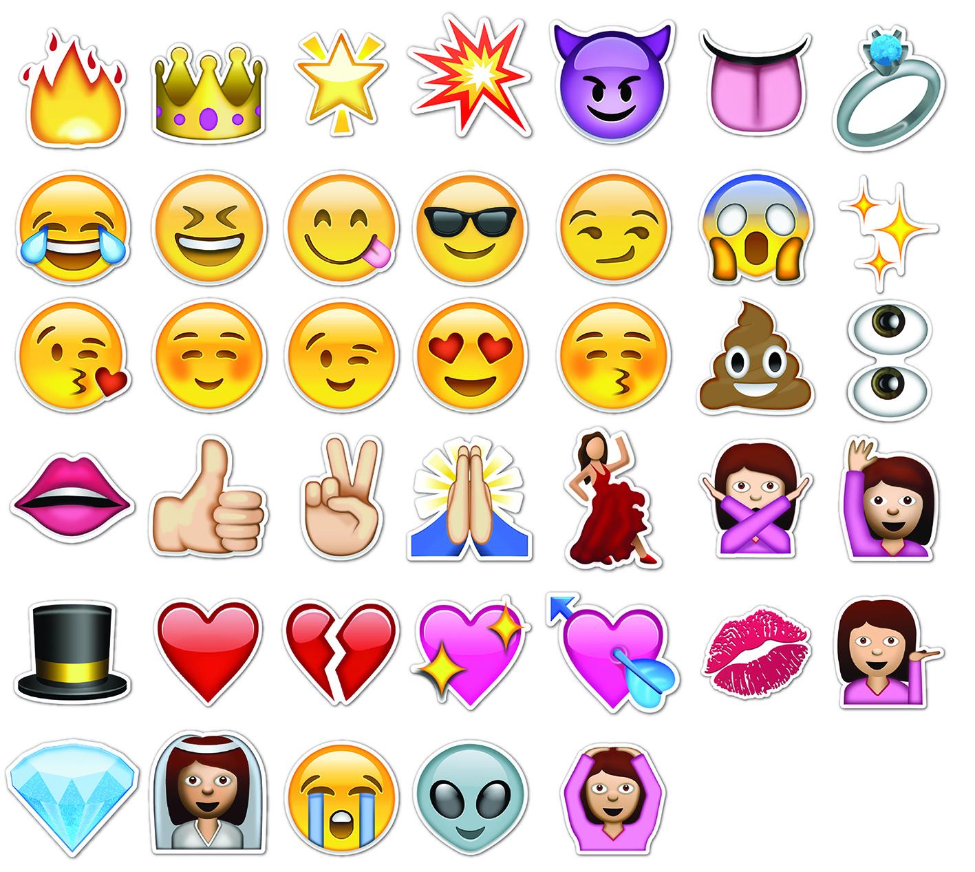 Atrezzo Emojis Letras Xxl