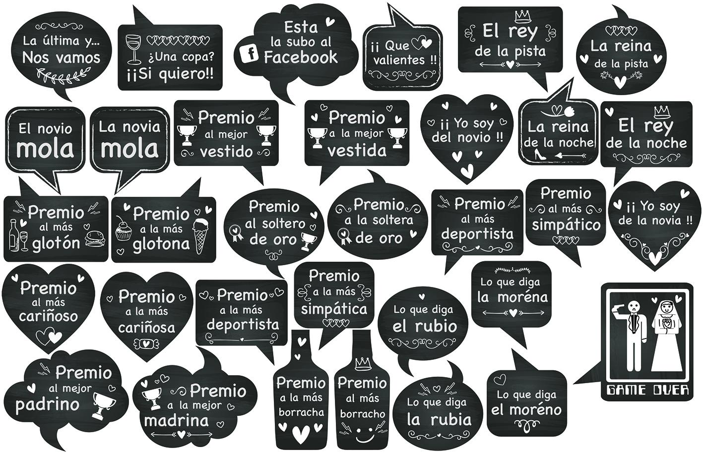 Frases Photocall Boda Imprimir