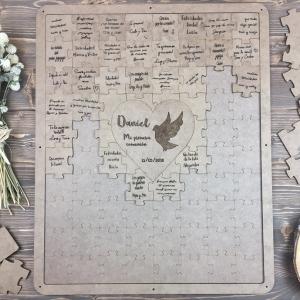 Puzzle cuadro para firmas comunión