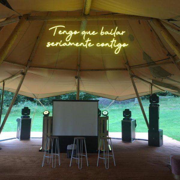alquiler carteles neones para bodas