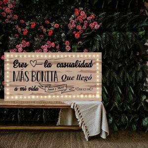 Carteles con frases para bodas